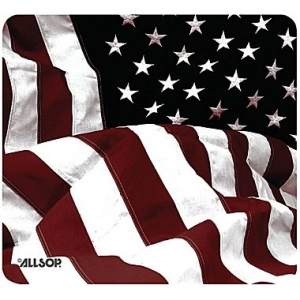 Old-Fashioned American Flag Mouse Pad
