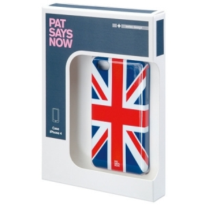 UK Union Jack iPhone 4/4s case by PAT SAYS NOW 4260066574020