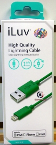 iLuv ICB263GRN High Quality Lightning Cable