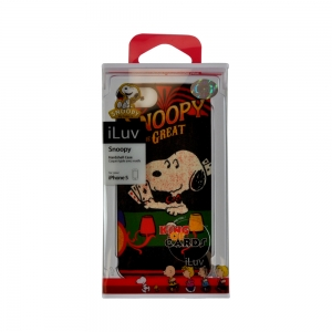 iLuv ICA7H382GRY Snoopy Vintage Series Hardshell Case for Apple iPhone 5