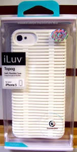 iLuv ICA7T324WHT Topog Soft Flexible Case for iphone 5
