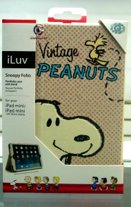 iLuv AM2SNOFPN Snoopy Portfolio and stand for iPad mini/mini 2/mini 3