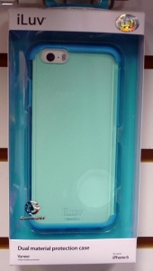 "iLUV AI6VYNEBL iPhone 6 4.7"" Vyneer Case (Blue)"