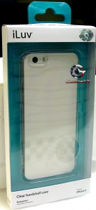 iLuv AI6GOSS Gossamer Clear Hard Shell case for IPhone 6