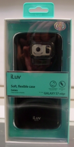 iLuv SS7EGELABK Gelato Black Soft, flexible case for GALAXY S7 edge