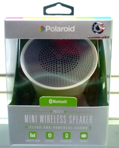 Polaroid PBT511 mini wireless speaker (white)