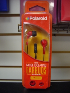 Polaroid PHP783RD Noise Isolating Earbuds