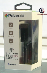 Polaroid PBT83BK Bluetooth Stereo Earbuds