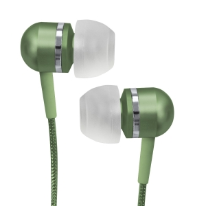 716829207949, Green high-performance isolation stereo earphones