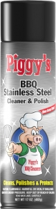 Piggy's BBQ Stainless Steel Cleaner 17 oz