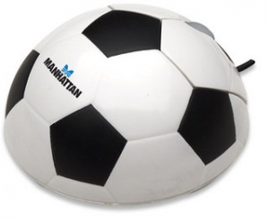 Manhattan Optical Desktop Mouse (Soccer Ball)