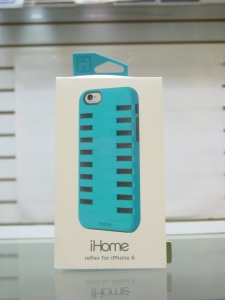 IHOME REFLEX ANTI-SCRATCH SNAP ON COVER CASE FOR IPHONE 6 - BLUE