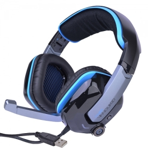 iFrogz Caliber Vanguard 7.1 Surround Sound Premier Gaming USB Headset w/Retractable Mic for PC/MAC