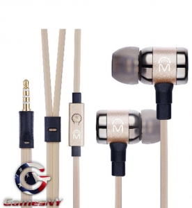 Mental Beats ICON fidelity earbuds with MIC yellow