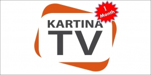 Kartina TV Subscription For 1 Month