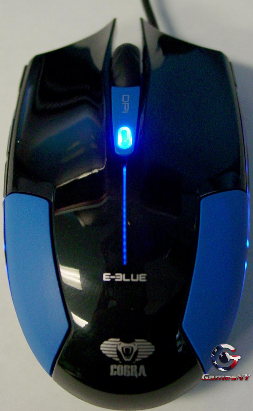 E Blue Cobra Type M Gaming Mouse Mousepad