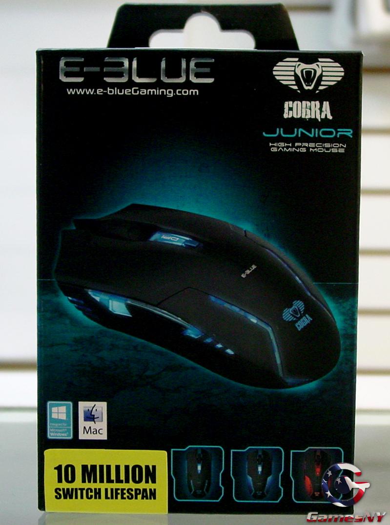E Blue Cobra Junior Gaming Mouse Mousepad Type M