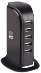 Altec Lansing Smart 5-Port USB HUB/ Station Rapid Charger 35w