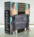 Suntone Personal Stereo Cassette Player with headphones