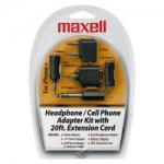 25215192142, Headphone/cell phone adapter kit