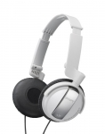 27242749313, Noise canceling closed-back headphones - white