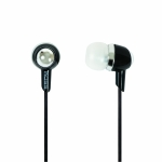 21299180907, Noise isolating in-ear stereophones-black