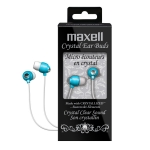25215193026, Blue crystal earbuds