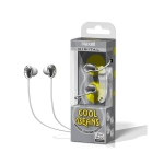 25215193217, Silver cool beans digital ear buds