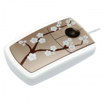 4260066571098, Pat Says Now - Designer Computer Mouse - Cherry Blossom - PLATINUM
