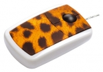 "4260066571111, Pat Says Now - Designer Computer Mouse - ""Leopard"""