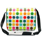 "PatSaysNow Polka Dot Bag 13,4""-17"""