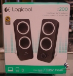 Logicool z200 Multimedia Speakers Z200BK