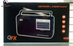 QFX R-3 AM/FM/SW1-2 4 Band Radio