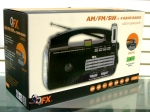 QFX R-30U AM/FM/SW(1-2) 4 Band Radio