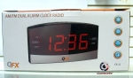 QFX CR-32 AM/FM Dual Alarm Clock Radio