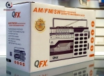 QFX J-7 AM/FM/SW Radio Reciever Cassette Recorder Player