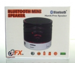 QFX BT-108 Bluetooth Mini Speaker Black!