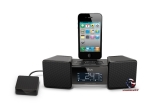 iLuv iMM155 Clock radio with Apple Dock cradle - Black