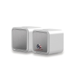 iLuv iSP160WHT Amplified Compact Stereo Speakers for Mac and PC
