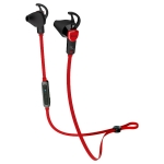 iLUV FitActive Air Tangle-Free Stereo Sports Bluetooth Earbuds Mic& Remote BLACK