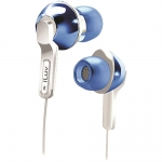639247135291, Blue in-ear headphones with super-bass
