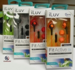 iLuv IEP416  Headset, Fit Active, for smartphones