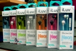 iLuv IEP335BPKN Neon Sound High-Performance Earphone with SpeakEZ Remote for iPod/iPhone/iPad