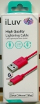 iLuv ICB263PNK High Quality Lightning Cable