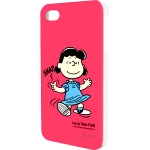 iLuv iCP751LPNK Peanuts Character Case for iPhone 4/4S (Lucy)