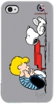 iLuv iCP751SSGRY Peanuts Character Case for iPhone 4/4S (Schroeder)