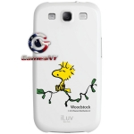 iLuv Snoopy Woodstock White Hard Shell Samsung Galaxy S3 i9300