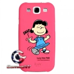 iLuv ISS254LPNK for Samsung Galaxy S Iii Snoopy Series Hardshell Case Pink Lucy