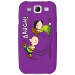 iLuv Samsung Galaxy S III Snoopy Series Hardshell Case Purple ISS254CPUR