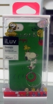 iLuv ICA7H382GRN Snoopy Green Hardshell Case for iPhone 5